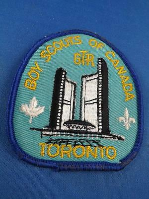 Boy Scouts Canada Gtr Toronto Ont City Hall Patch Collector Badge
