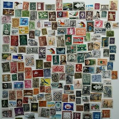 300 Different Portugal Stamp Collection