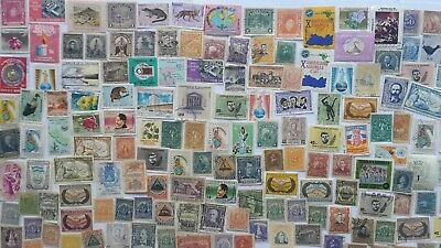 500 Different El Salvador Stamp Collection