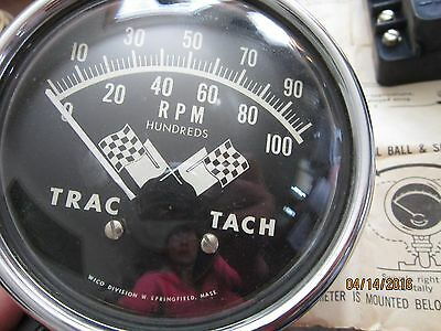 WICO TRAC TACH tachometer T14335 patent applied ,nos