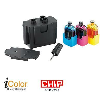 iColor Smart-Refill STARTER-Kit für Canon CL-541/541XL