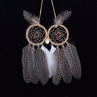 Handmade Owl Dream Catcher Indian Style Dreamcatchers Wall Hanging Decor Gift