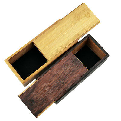 Bamboo Wood Wooden Glasses Sunglasses Protector Case Storage Holder Box NC