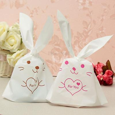Cute Rabbit Ear Gift Bag Bunny Party Wedding Sugar Candy Cookies Package Kids L