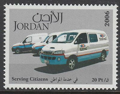 Jordanien Jordan 2006 ** Mi.1885 Automobil Car Fahrzeug Vehicle Serving Citizens