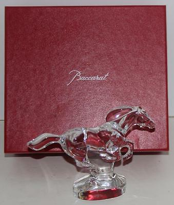 Baccarat Crystal Zodiaque Cheval Stallion Sculpture FREE SHIPPING!