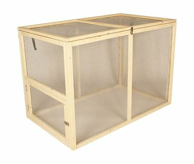 Outdoor Wooden Rabbit Guinea Pig Ferret Small Animals Pets Run Cage Hutch Pen