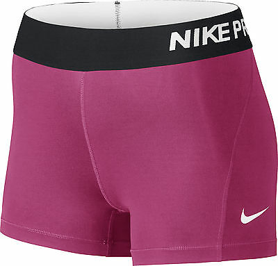 Nike Pro Cool 3 Inch Ladies Compression Shorts - Pink