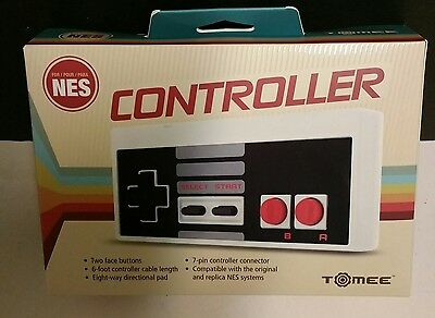 Brand New Boxed  Tomee Classic Style Controller For Nintendo Nes 8 Bit System