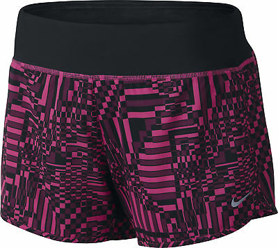 Nike Rival Printed 4 Inch Ladies Running Shorts - Pink