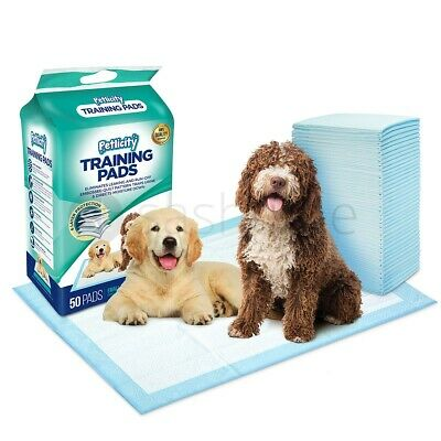 10-150 X-LARGE PUPPY TRAINER TRAINING PADS TOILET PEE WEE MATS DOG CAT 60x60CM