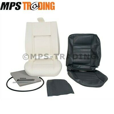 Land Rover Defender Front Driver Seat 'Grey' Re-Trim Kit - Da5630E