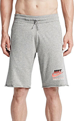 Nike Track & Field Alumni Mens Running Shorts - Grey