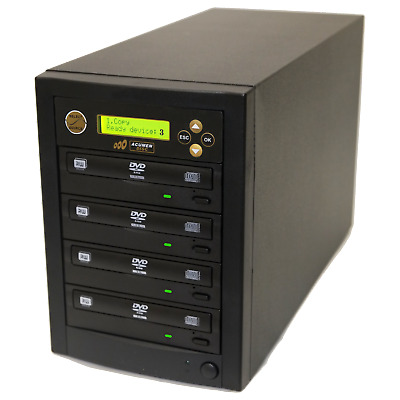 Acumen Disc 1 to 3 Writer Target 24X DVD CD Disc Backup Copy Duplicator Tower