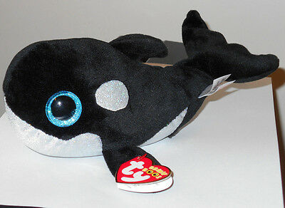661ef7c6d4c TY BEANIE BOOS - SHAMU the Whale (6-8 Inch)(Sea World Exclusive) NEW ...