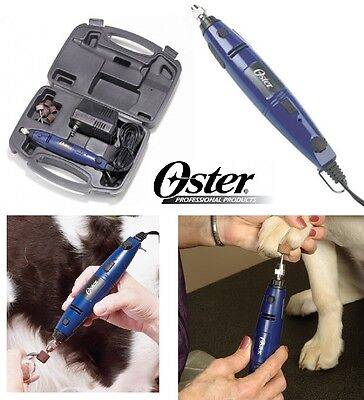 OSTER PET Dog Cat PROFESSIONAL GROOMER Grooming NAIL Claw Trimmer GRINDER SET