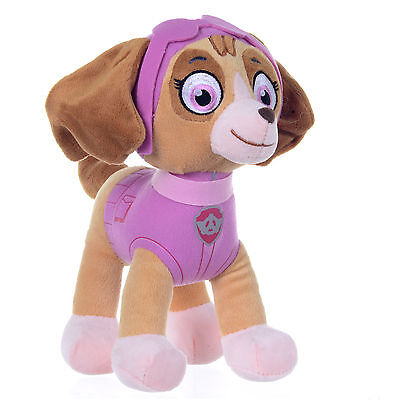 """New Official 12"""" Paw Patrol Skye Pup Plush Soft Toy Nickelodeon Dogs"""