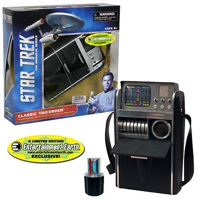 Star Trek TOS Medical Tricorder Replica light + sound Mc Coy top neu ovp