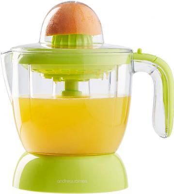 Andrew James Citrus Fruit Juicer, Press / Extractor, Compact, Electric, 30W