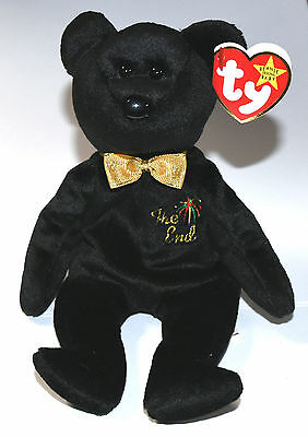 Vintage Beanie Babies Collection The End (You Create Birthdate)