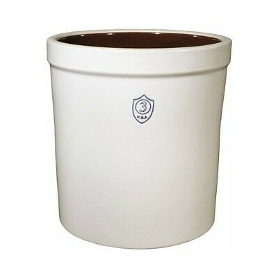 Ohio Stoneware 02443 Bristol Preserving & Storage Crock 3 Gallon Capacity