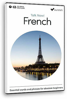 Eurotalk Talk Now French for Beginners - Download option and a CD ROM