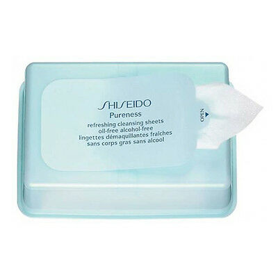 Shiseido Pureness Refreshing Cleansing Sheets Oil-free & Alcohol-free 30 sheets