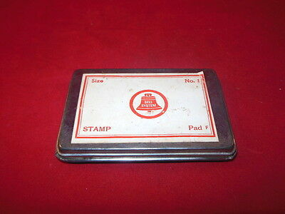 IR Vintage BELL SYSTEM Telephone Office Metal Ink Pad Advertising Piece
