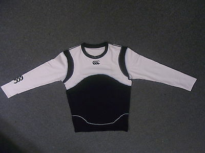 Canterbury Cold Long Sleeved Technical Baselayer Black/Red Black/White