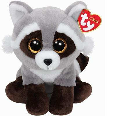 Ty Beanie Babies 90228 Bandit the Raccoon Buddy Classic