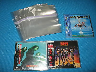 High Quality OPP Resealable Plastic Bag 100 for Standard Jewel Case Japan NEW