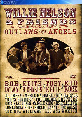 Willie Nelson & Friends Outlaws & Angels Dvd New R2