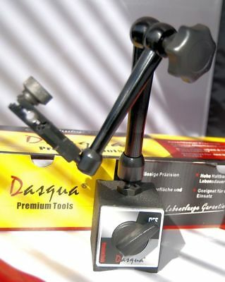 Dasqua Magnetic Base with Mechanical 3-D Jointed Arm For Dial Gauge DTi