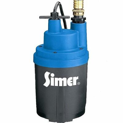 """Simer 2330 - Smart Geyser 30 GPM (3/4"""" or 1"""") Automatic Submersible Utility Pump"""