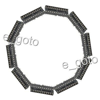 20pcs DIP narrow 24 pins IC Sockets Adaptor Solder Type Socket 24-pin