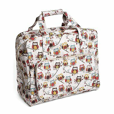 Sewing Machine Bag HOOT OWLS PVC Sewing Machine Bag 20x43x37cm
