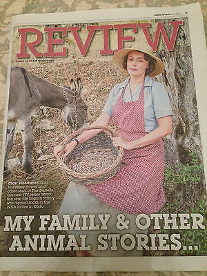 The Durrells KEELEY HAWES PHOTO COVER INTERVIEW APRIL 2016 CALLUM WOODHOUSE