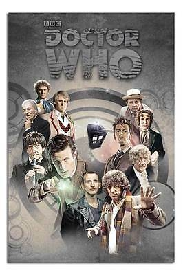 Doctor Who Doctors Through Time Poster New - Laminated Available