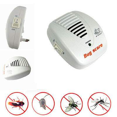Good Electronic Ultrasound Mouse Rat Spider Insect Repellent Pest Repeller BD