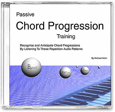 Passive Chord Progression Music Ear Training, Audio CD Absolutely Perfect!