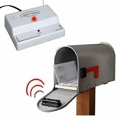 MAIL CHIME / MAIL BOX ALERT-ALARM -Wireless- know when your mail arrives! - NEW!
