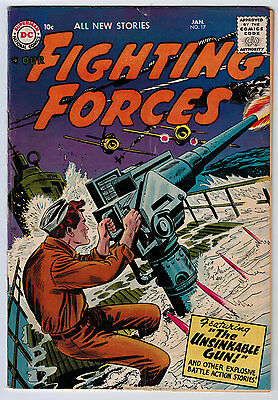 Our Fighting Forces #17 3.5 Ow/w Pages Silver Age