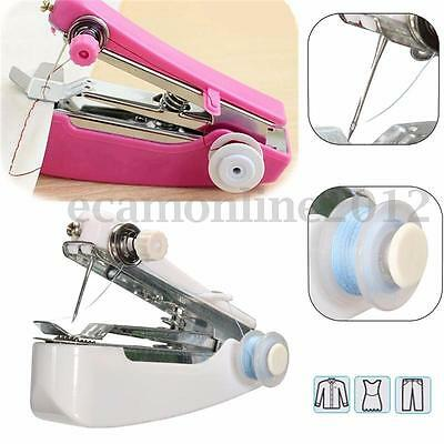New Mini Multifunction Home & Travel Portable Cordless Hand-held Sewing Machine
