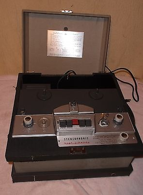 Vintage Voice of Music 720 Reel to Reel Tape Recorder w Tube Amplifier