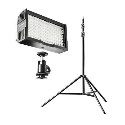 Walimex pro LED Beleuchtung Set Video Set Up 128 (20372) Video inkl. Stativ NEU
