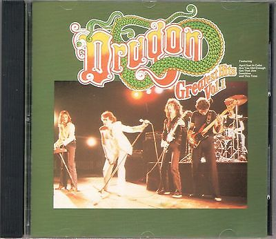 DRAGON 'Greatest Hits Vol.1' Analogue OZ Portrail CD EX New Wave