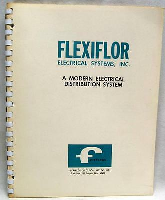 Flexiflor Electrical Systems Advertising Sales Catalog Brochure 1963 Vintage