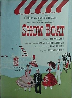 1949 Rodgers & Hammerstein's Show Boat Performance Book - Boston (Jerome Kern