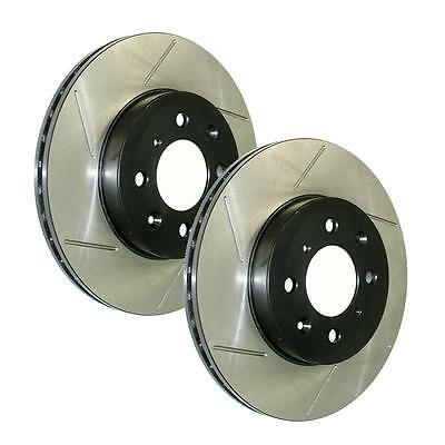 Stoptech Slotted Brake Rotor for 2014-2014 Sq5 126.33137SR