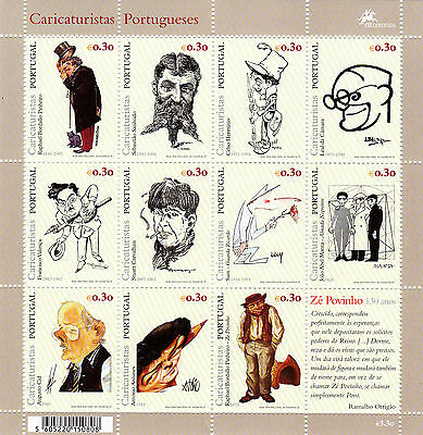 Portugal S/s Cartoonists  (1999) Mnh (**)